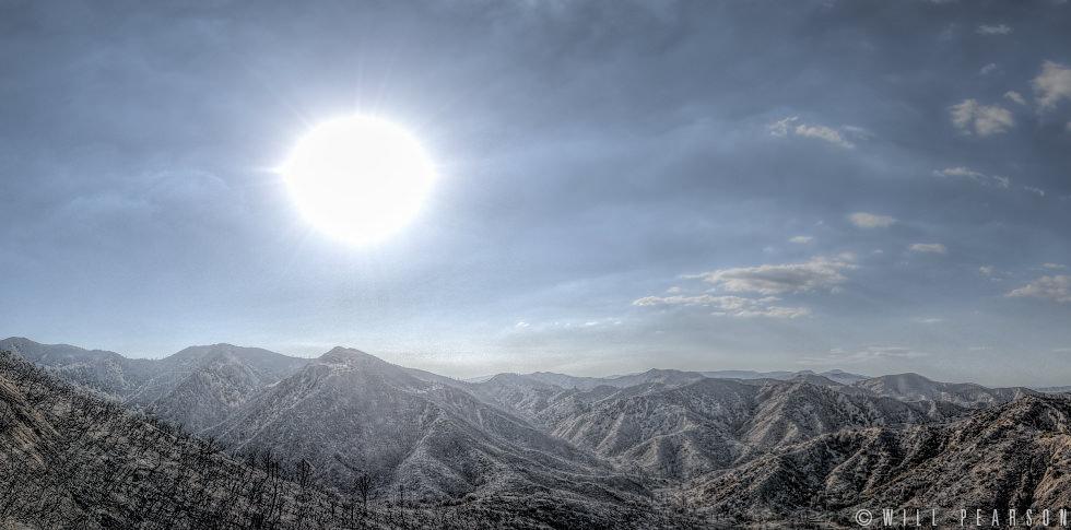Burnt Landscape, Los Padres