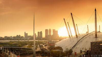 Canary Wharf Sunset