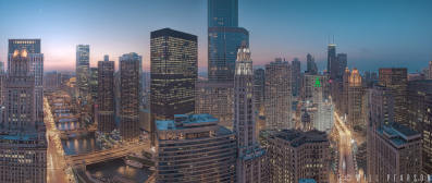 East Wacker Meets North Michigan Avenue