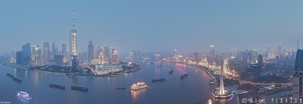Huangpu River, China