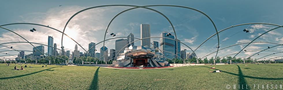 Jay Pritzker Pavilion Millennium Park Chicago