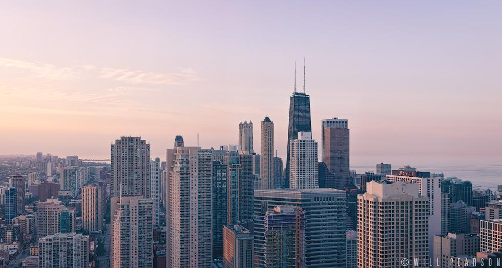 John Hancock Center, Chicago Skyline