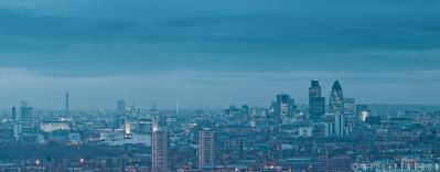 London Cityscape, Dusk