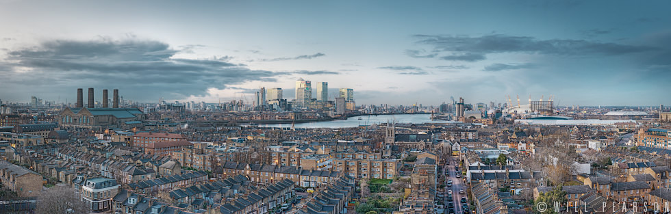 London from the South