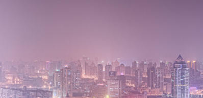 Shanghai Skyline Crop