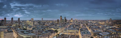 The City of London, Night Falls