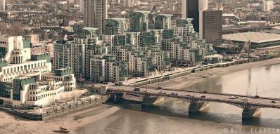 Vauxhall Bridge - St George Wharf