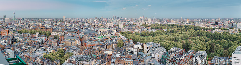 View Over Green Park