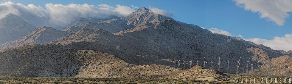 Windfarm, San Bernardino Mountains