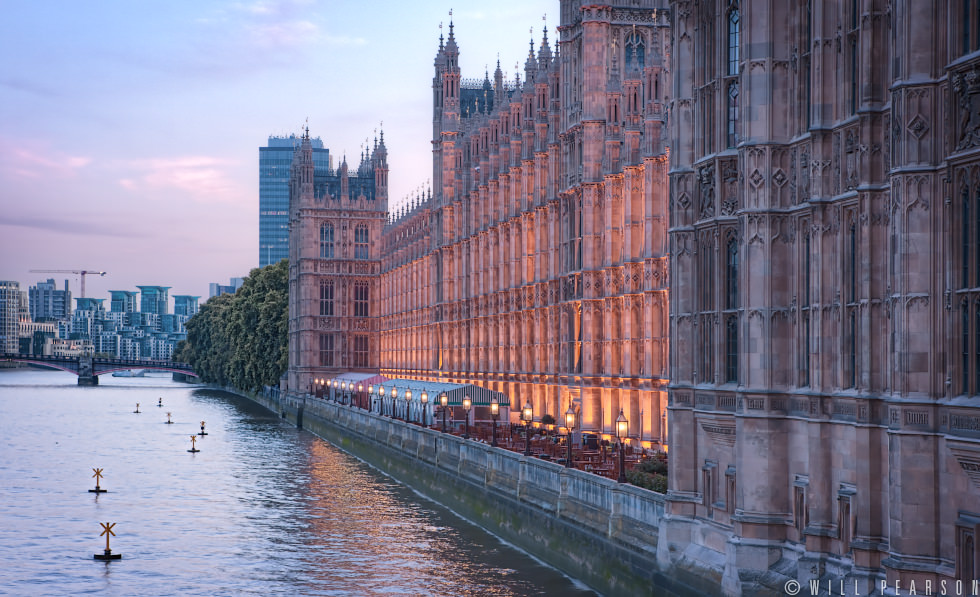 Palace of Westminster Towards Vauxhall