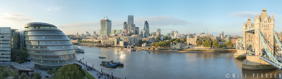 Tower Bridge and the City of London