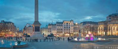 Trafalgar Square Rush Hour