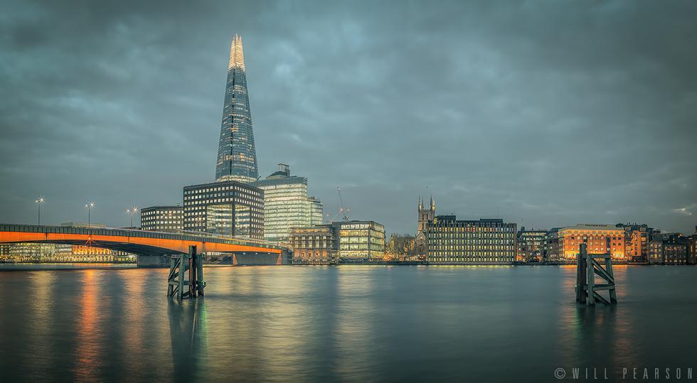 London Bridge at Twilight