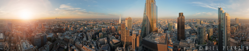 30 St Mary Axe Dawn