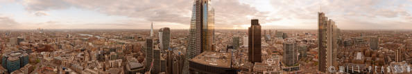 30 St Mary Axe Sunset