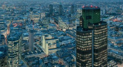 London from The Leadenhall Building, Detail 1