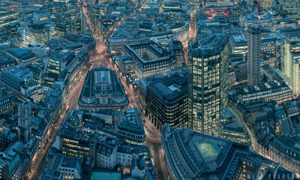 London from the Leadenhall Building, Detail 2