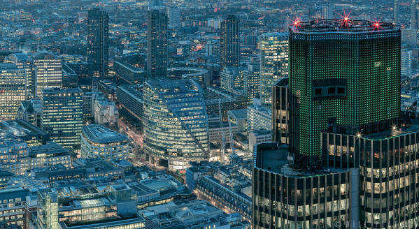 London from the Leadenhall, Detail 4
