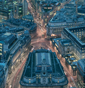 London from the Leadenhall Building Detail 6