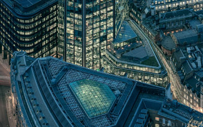 London from the Leadenhall Building Detail 7