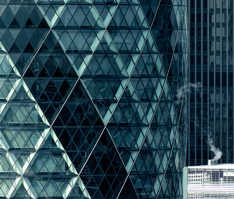 30 St Mary Axe Detail