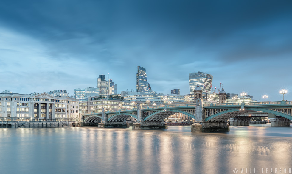 Southwark Bridge and the City of London